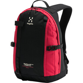 Haglöfs Tight Small Backpack, true black/scarlet red
